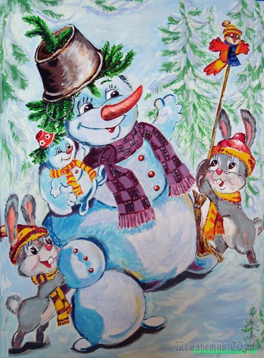 новогодние рисунки детей 9-10 лет объявления: продам