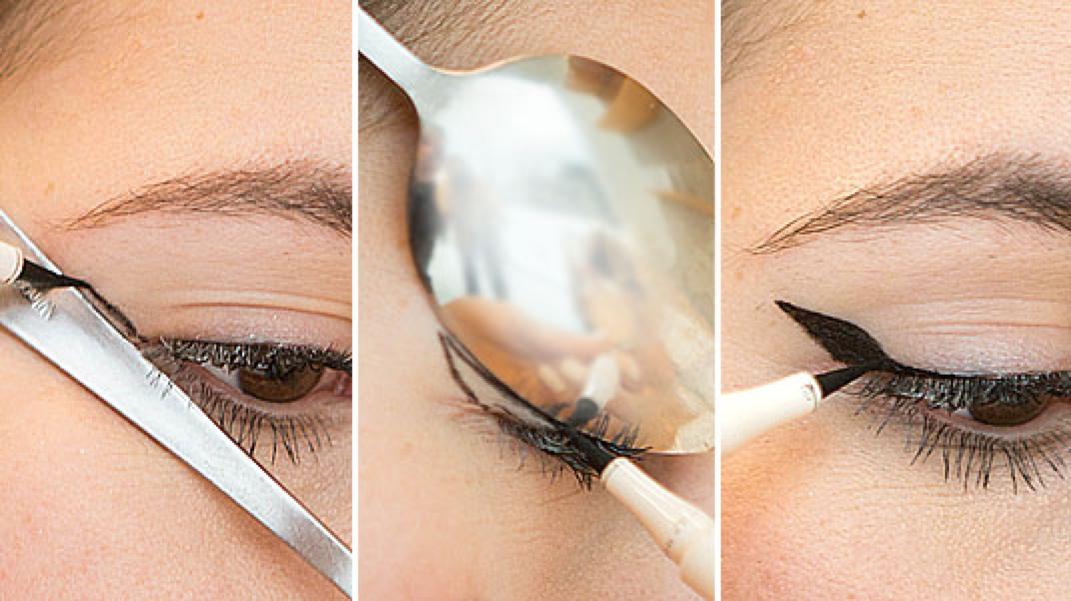 Как сделать стрелки красиво на глазах