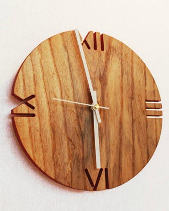 Часы деревянные своими руками