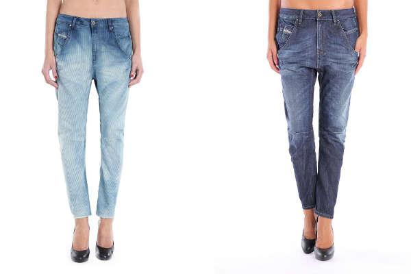 Укороченные модные джинсы осень-зима 2015-2016