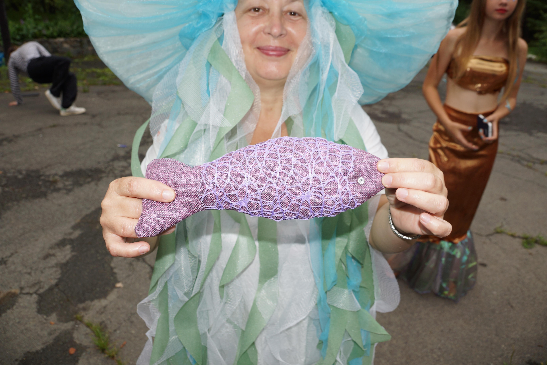 Костюм ко дню нептуна для детей своими руками 987