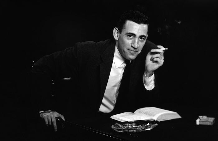 Американский писатель Джером Сэлинджер (Jerome Salinger). | Фото: kued.org.