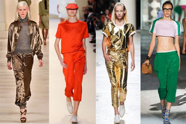 Модные повседневные костюмы в спортивном стиле