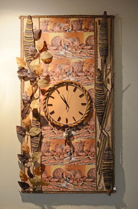 Настенные часы старинные своими руками 48