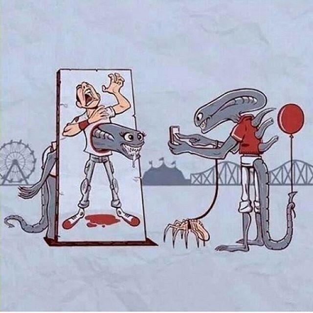 Где-то в параллельной Вселенной...