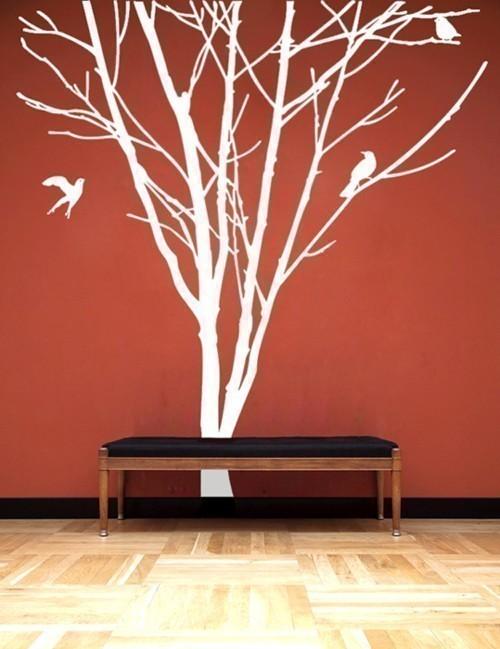 Декоративные деревья на стену