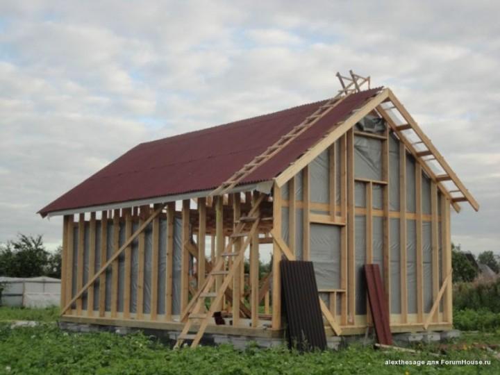 сделать дом загородный своими руками