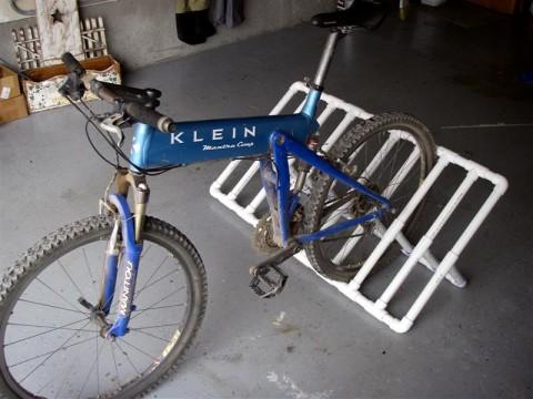 Как сделать велосипед из пластиковых труб