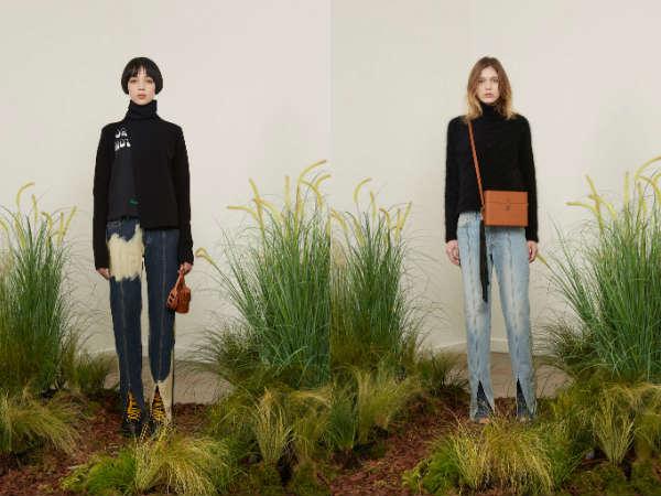 Модные джинсы с разрезами осень-зима 2015-2016