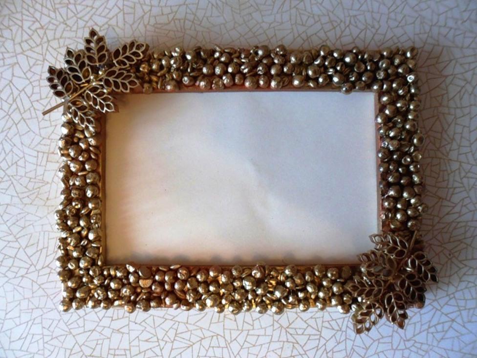Сделать рамку для овального зеркала своими руками