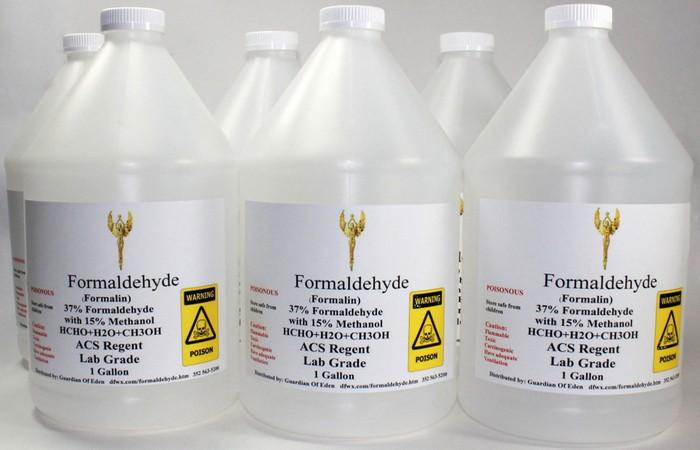Натуральное соединение формальдегид.