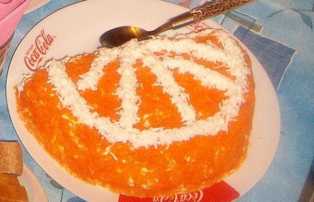 Салаты на новый год с апельсином