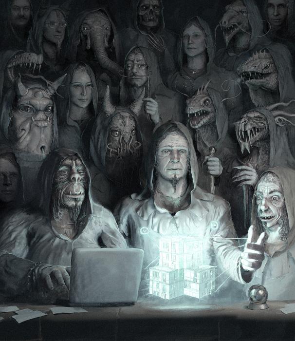 Теневой дозор. Автор: Андрей Ферез.