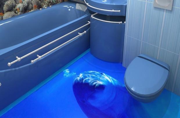 наливной пол дельфин