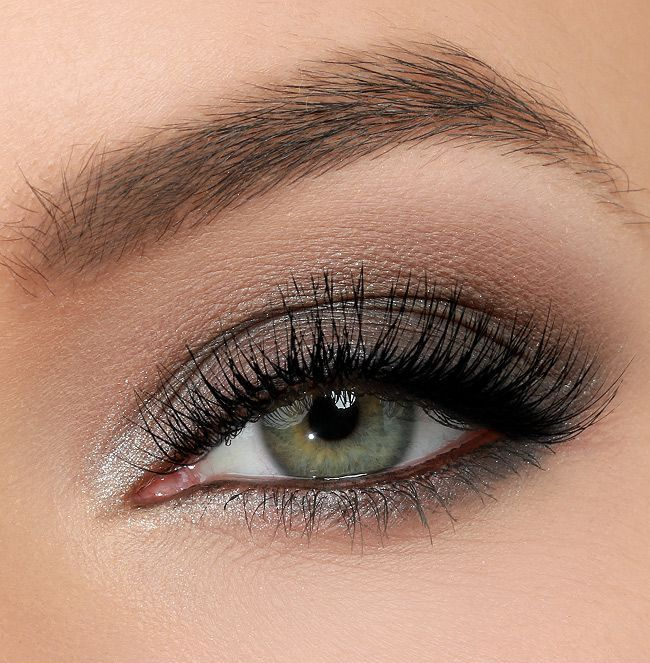Макияж для серых глаз фото вечерний макияж