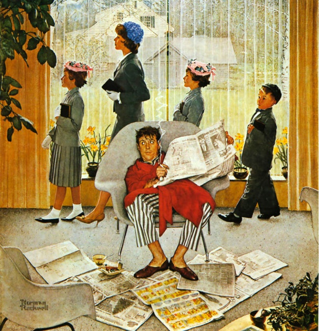 the norman rockwells life and work with the pictures A rare still life, norman rockwell's spring rockwell norman the young lady with a shiner 1953 love norman rockwell pictures norman rockwells ~ christmas.