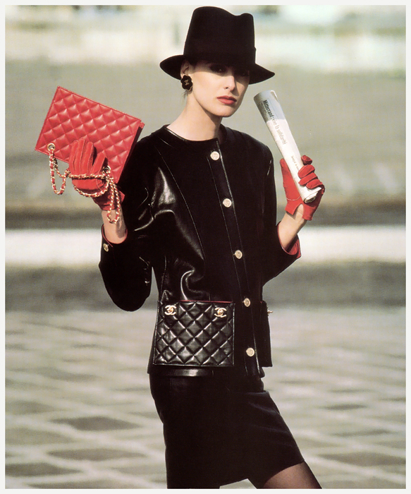 ���� ���������� ��� Chanel, 1987. |whatgoesaroundnyc.com.