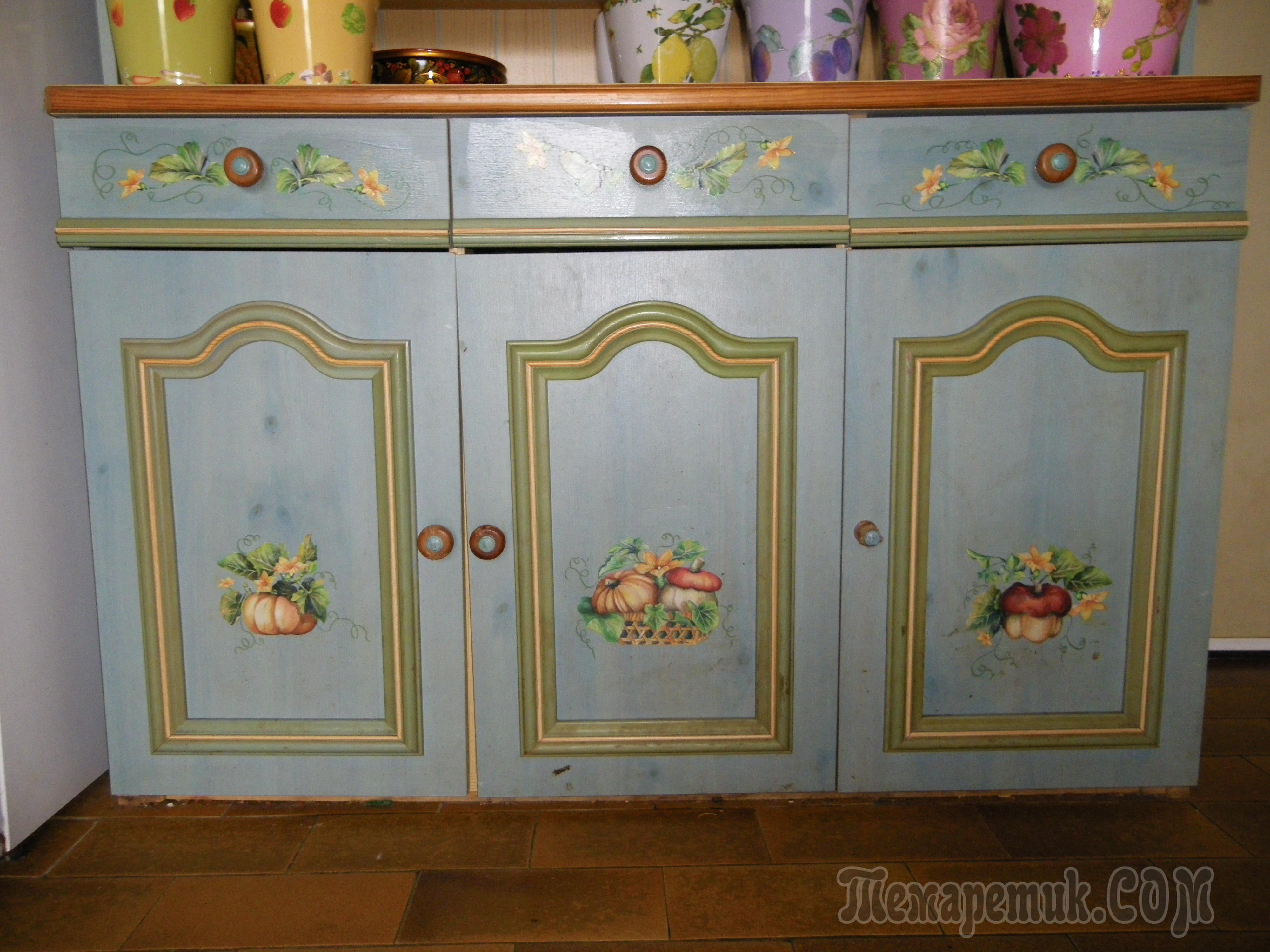 Как обновить старую кухонную мебель своими руками (38) 10
