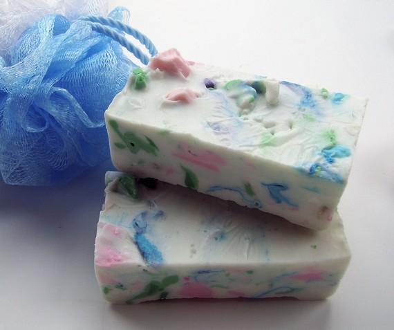 Как сделать мыло из остатков мыла в домашних условиях