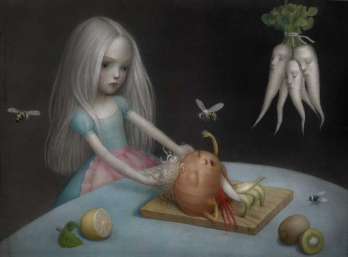 Девочки не плачут. Автор: Nicoletta Ceccoli.