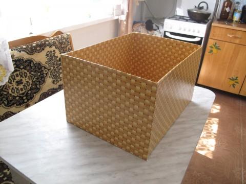 Контейнер из коробки своими руками 64