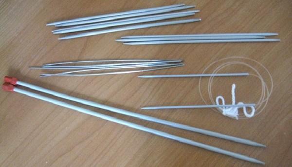Спицы для вязания номер 4 8