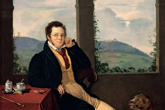 Портрет Франца Шуберта, Gabor Melegh, 1827. | Фото: smartwebsite.ru.