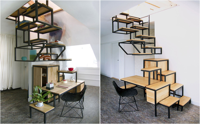 Стол-лестница