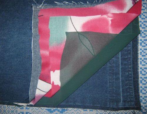 мк по сумке из джинса