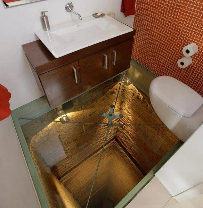 Туалете дыркой подарок 10 фотография