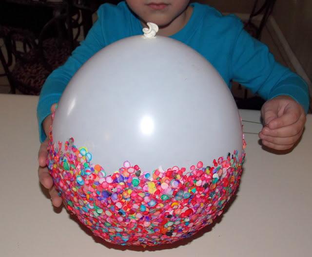 Поделки из шариков своими руками и ниток