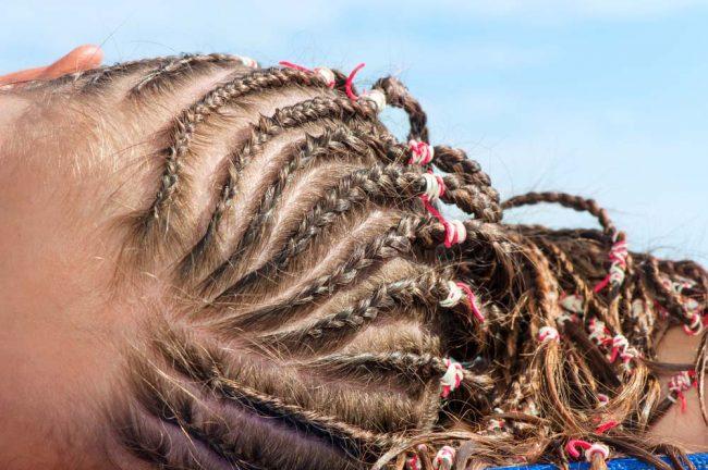 Метод плетения кос
