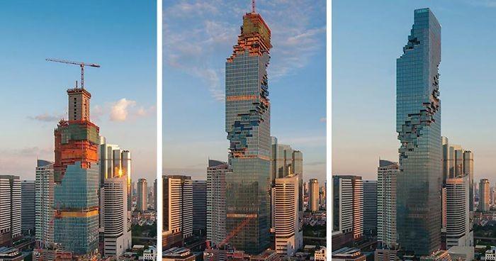 Мы строили, строили и наконец построили: самый высокий небоскрёб в Таиланде