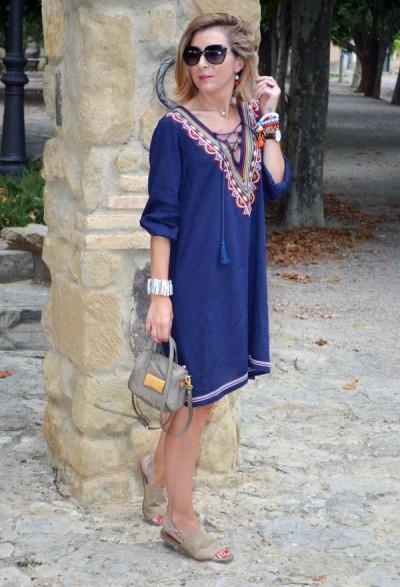 платье-туника в отпускном гардеробе