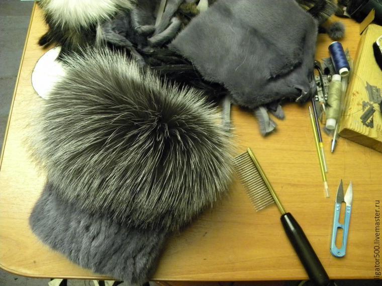 Сделать шапку из меха