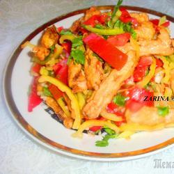 «Мираж»-тёплый летний салат !!!!Необычный вкус нежных  баклажанов!!