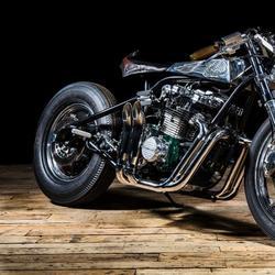Кастом-байк Kawasaki Z1000ST от мастерской Ed Turner