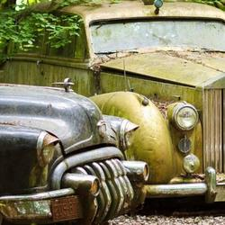 Коллекция-кладбище винтажных автомобилей в Дюссельдорфе