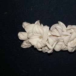 Украшения с цветами из полимерной глины