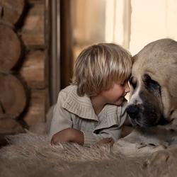 Деревенская жизнь: дети и животные