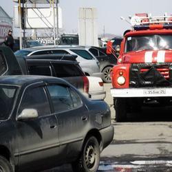 Беззащитные пожарные и скорые