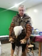 Трогательная преданность орлана