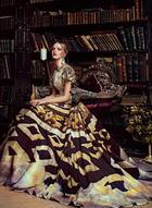 Шикарные платья-картины, по мотивам полотен художника Никаса Сафронова