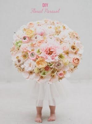 Цветочный зонтик
