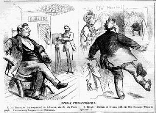 Фотошоп XIX века: привидения на ретро-снимках