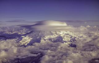 Вид из окна самолета - красивые аэрофотографии