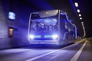 Мерседес показал беспилотный городской автобус будущего