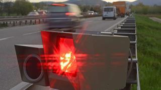 В Германии выписан большой штраф за очень высокую скорость езды