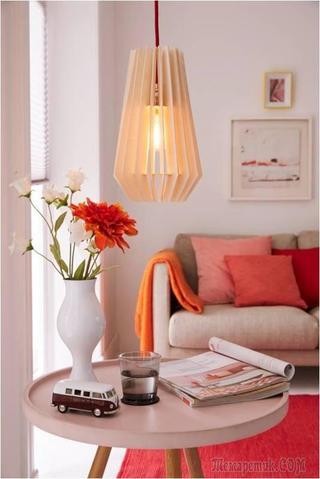 Делаем стильную деревянную лампу