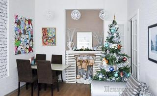 Скандинавская квартира 80 м² для семьи в Выборге